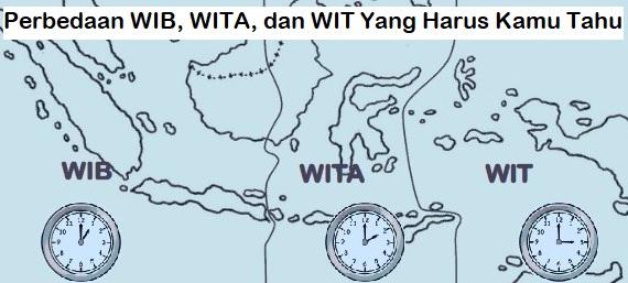 Perbedaan WIB, WITA, dan WIT Yang Harus Kamu Tahu