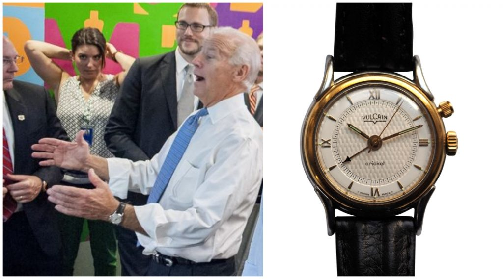 Koleksi Jam Tangan Joe Biden